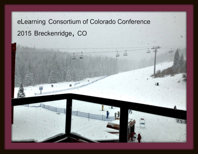 Snowing in Breckenridge