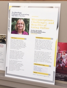 Poster of Kathy's Talk